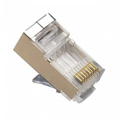 Внешний вид Cor-X RJ45 connector CAT5E shielded.